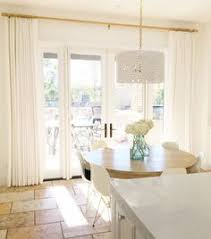 Drapes Over French Doors - whitelanedecor whitelanedecor ikea ritva pleated curtains white
