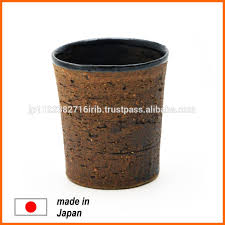 unique mugs made of earthenware from japanese coffee cup