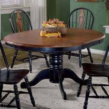 Butterfly Leaf Dining Room Table Sunset Trading 48 Inch Round Dining Table With Butterfly Leaf