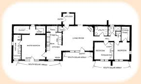 solar home design plans impressive decoration solar house plans adobe plan 1870 home