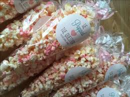 Wedding Favors For Bridal by Best 25 Popcorn Favors Ideas On Baby Shower Treats