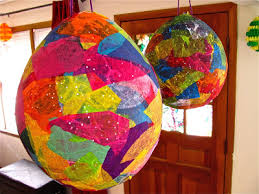 easter egg pinata preschool crafts for kids paper mache easter egg pinata craft