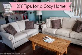 How To Make Your Bedroom Cozy by Diy Tips For A Cozy Home Love Pasta And A Tool Belt