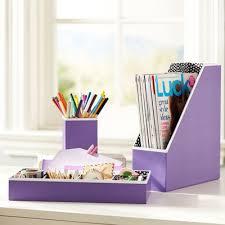 Purple Desk Organizers Purple Preppy Paper Desk Accessories Home Office Pinterest