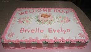 how to decorate a baby shower cake for a baby shower cakes