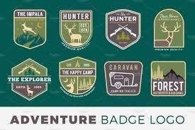 jeep adventure logo 150 outdoor adventurers logos logo templates creative market
