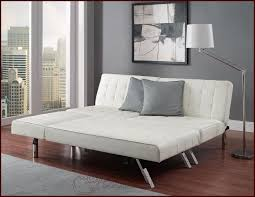 white leather futon sofa queen sofa guest sleeper bed sectional couch faux leather futon