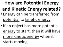 day 2 potential and kinetic energy what is energy anything that