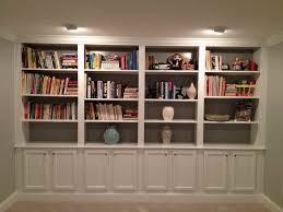 Wall Bookshelves Ideas by Best 20 Basement Built Ins Ideas On Pinterest Built In Shelves