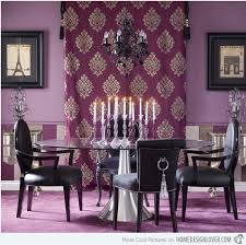 Purple Dining Room Ideas Home Design Lover - Purple dining room