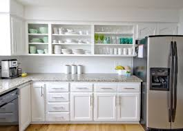 Kitchen Cabinets No Doors Before After Kitchen Makeover Kitchen Construction And