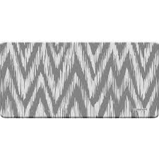 Ikat Kitchen Rug Cuisinart Anti Fatigue Chevron Ikat Grey Kitchen Mat 20 X 41