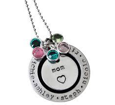 Children S Birthstone Necklace Children S Birthstone Necklace For Mom The Necklace