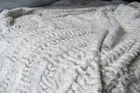 Fake Fur Blanket White Faux Fur Throws Blankets Natural Bed Company