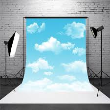 3x5ft outdoor vinyl sky cloud photography background studio photo