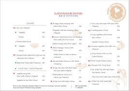 asia kitchen menu mainland china asia kitchen menu palladium mall lower parel get