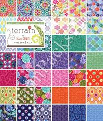terrain moda charm pack five inch quilt fabric squares kate