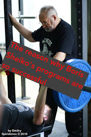Sheiko Bench Program The Reason Why Boris Sheiko U0027s Programs Are So Successful