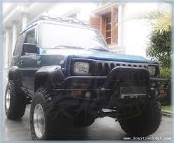 daihatsu jeep daihatsu rocky taft hiline feroza bumper depan 150115 fourtrack