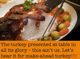 thanksgiving for lazy make ahead turkey and gravy in my