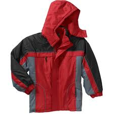 george school uniform boys hooded fleece lined jacket walmart