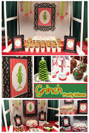 Dr Seuss Home Decor by Best 20 Grinch Party Ideas On Pinterest Christmas Party Nights