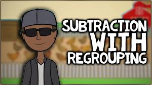 subtraction with regrouping song by numberock youtube