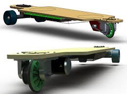 Skateboard Shelf 3 Wheeled Electric Longboard Esk8 Builds Electric Skateboard