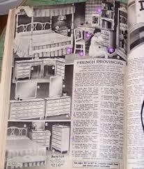 Bedroom Furniture Catalog by Beautiful Vintage French Provincial Complete Girls Bedroom Set