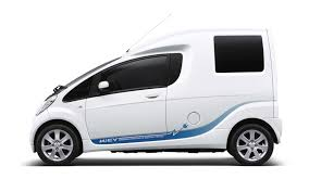 Mitsubishi I Interior 2010 Mitsubishi I Miev Cargo U2013 Electric Drive Vehicle