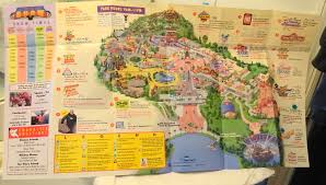 Walt Disney World Maps by Disney Walt Disney World Mgm Studios Summer 1999 Guide Map Used