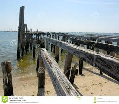 old pier on cape cod close up stock photo image 57794807