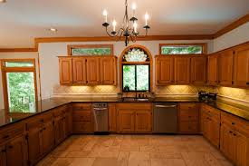 Oak Kitchen Design by Unfinished Oak Kitchen Cabinet Designs Rilane