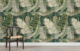 3d tropical camo leaf wallpaper murals wallpaper