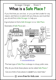 what is a safe place kid safety tips pinterest safe place