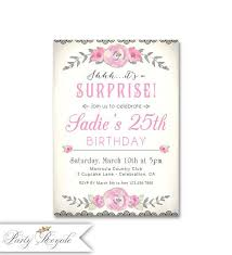 109 best surprise birthday party invitations images on pinterest