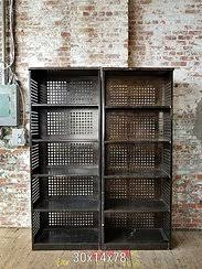 Metal Barrister Bookcase Bergen Office Furniture Mid Century Steel Furniture