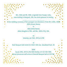 indian wedding card wording wedding wording sles and ideas for indian wedding invitations