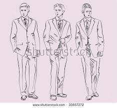 man fashion sketch stock images royalty free images u0026 vectors