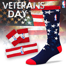 fbf originals nba veterans day sock