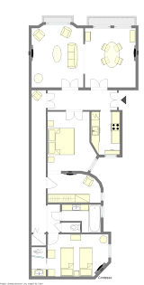 L Tower Floor Plans Luxurious 2 Bedroom Paris Apartment With Stunning Eiffel Tower Views