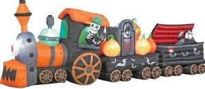 inflatable halloween train thereviewsquad com