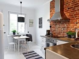 kitchens with brick walls 15 cool kitchen design with exposed brick walls rilane