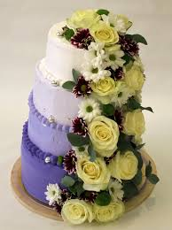 Buy Wedding Cake Wedding Cake With Fresh Flowers In Registration For Sale In