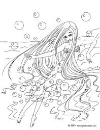 free printable fairy coloring pages for kids best of mermaid