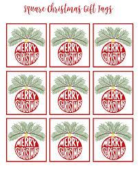 25 free printable christmas tags ideas
