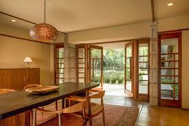 frank lloyd wright home interiors frank lloyd wright millard house open plan dining living terrace