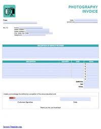 invoice photography template tomahawk talk invoice example