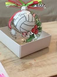 cute homemade ornamentes omg volleyball ツ pinterest