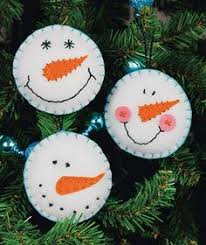 simple sewing for tree decoration simple